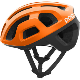 POC Octal X Spin Casco, zink orange